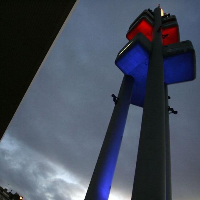 Žižkovský vysílač, který oslavil 20. narozeniny, postavil architekt Václav Aulický.