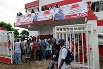 Sídlo opoziční APC