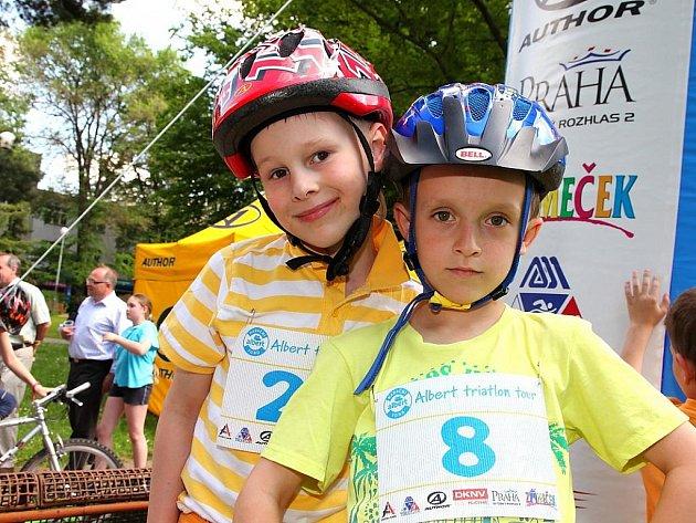 Mezi projekty, které Nadační fond Albert podpoří, nechybí ani seriál závodů Albert Triatlon Tour organizovaný Tomášem Slavatou.