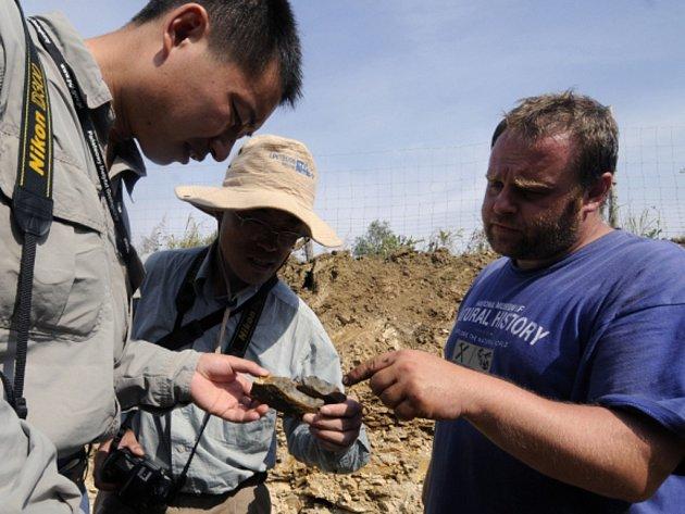 Na výzkumu vzácné lokality Wu-ta na severu Číny se podílejí špičkoví čeští paleontologové. Během nedávných prací na ploše 600 metrů čtverečních objevili nové druhy prvohorních rostlin, velké části určitých typů, o jejichž podobě se jen diskutovalo.