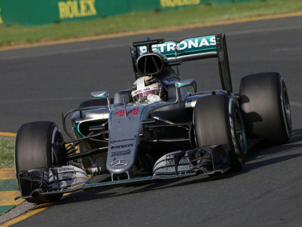 Lewis Hamilton ve Velké ceně Austrálie.