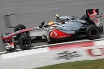 Lewis Hamilton s McLarenem.