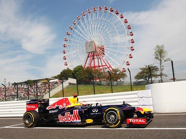 Sebastian Vettel ovládl kvalifikaci na Velkou cenu Japonska.