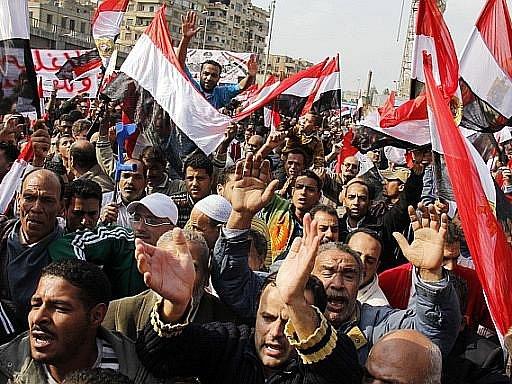 V Egyptě pokračují protesty