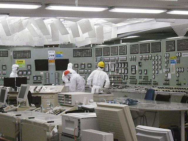 V japonské jaderné elektrárně Fukušima.