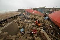 Na východní pobřeží Indie udeřil 3. května 2019 cyklon Fani.
