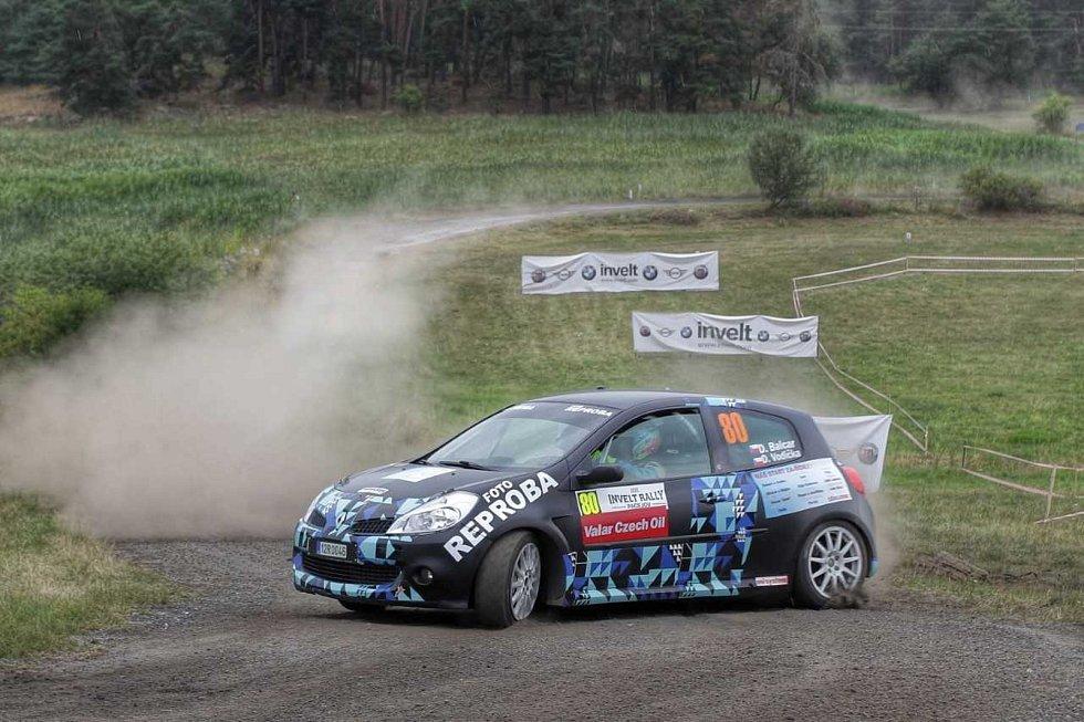 Daniel Balcar po sedmnácti letech opět závodil v rallye. Invelt Rally Pačejov absolvoval s Renaultem Clio R3. Foto: Robert Balcar - RB Print