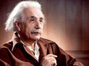 Albert Einstein (1879-1955), jeden ze zakladatelů moderní fyziky,nositel Nobelovy ceny za fyziku pro rok 1921,vypracoval základy teorie relativity.