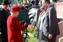 Britská královna Alžběta II. slavila diamantové jubileum.