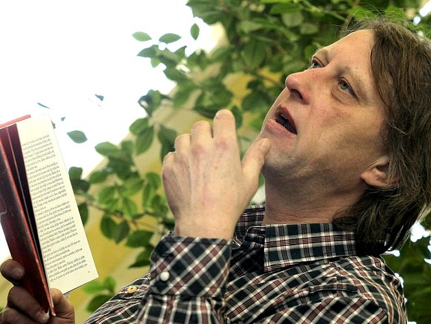 Spisovatel Jáchym Topol.