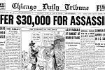 Vydání novin po vraždě reportéra Jakea Lingleho