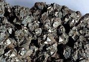 Minerál s kobaltovou rudou (kobalt)