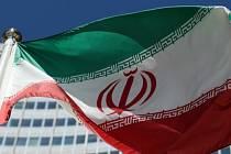 Íránská vlajka, Írán - ilustrační foto