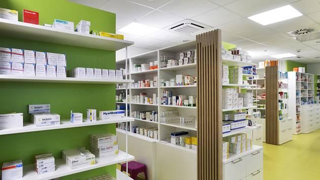 Lékárna. Ilustrační snímek