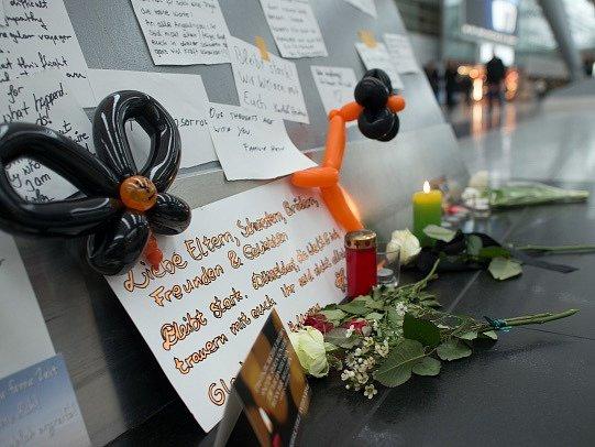 Pieta na letišti v západoněmeckém Düsseldorfu