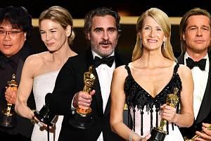 Držitelé filmových Oscarů roku 2020