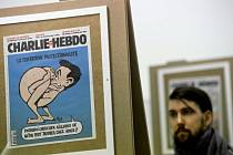 Téměř dvě stovky titulních stránek francouzského levicového týdeníku Charlie Hebdo, jehož pařížské redaktory počátkem ledna vyvraždili radikální islamisté, si od 28. ledna mohou prohlédnout návštěvníci pražského Centra současného umění DOX.