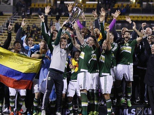 Fotbalisté Portlandu mají i díky bleskové trefě první titul v MLS