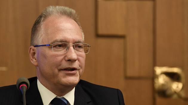 Ředitel Bezpečnostní informační služby (BIS) Michal Koudelka (na snímku z 21. října 2019).