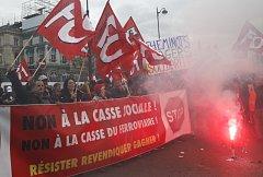 Stávky železničářů ve Francii