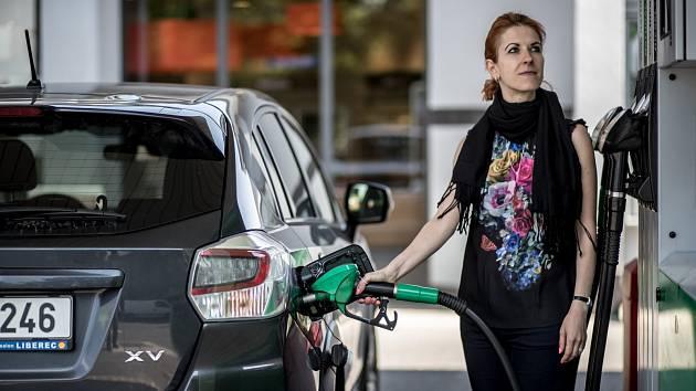 Při cestách do zahraničí se motoristům vyplatí, doplnit nádrž ještě před přejetím českých hranic.