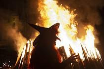 Pálení čarodějnic - ilustrační foto.
