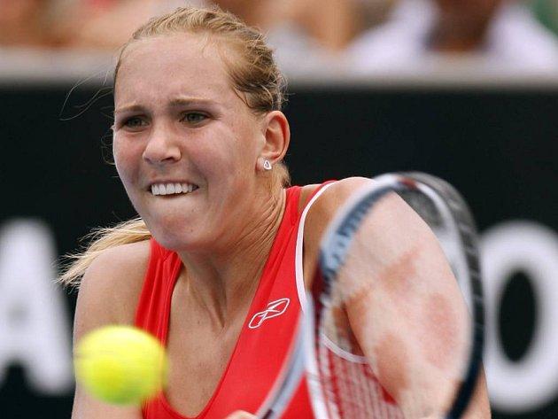 Nicole Vaidišová porazila Japonku Sugijamovou a ve 4. kole Australian Open si zahraje s Američankou Serenou Williamsovou.