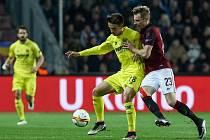 Sparta - Villarreal: Ladislav Krejčí byl hodně aktivní