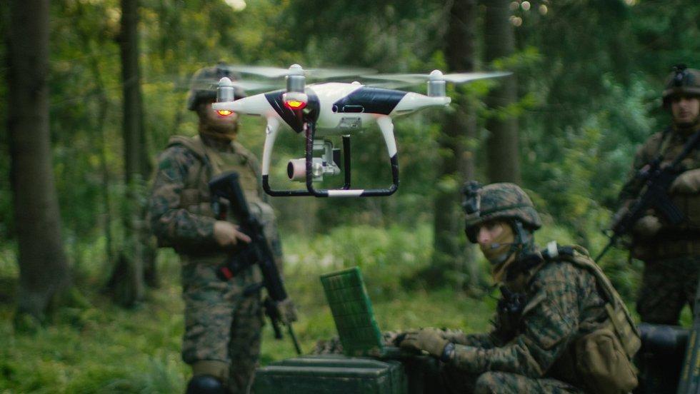 Průzkumný dron - Ilustrační foto