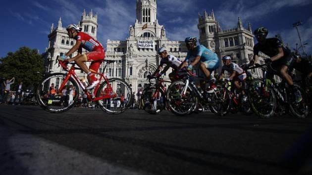 Fabio Aru (vlevo) při cestě do Madridu