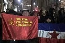 Protivládní protesty v Bělehradu
