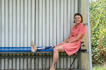 Handicapovaná sportovkyně Markéta Pechová