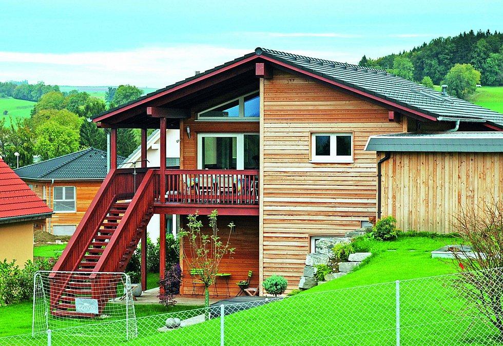 U dřevostaveb se využívají různé druhy stavebních konstrukcí