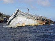 Drogy se údajně pašovaly i na potopené výletní lodi Costa Concordia