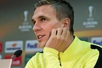 Bořek Dočkal ze Sparty před zápasem s Schalke.