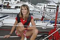 Nizozemská jachtařka Laura Dekkerová.