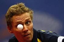 Jörgen Persson - stolní tenis, ilustrační foto.