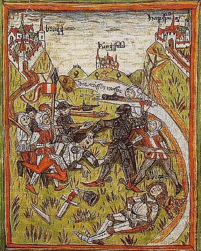 Vražda Albrechta I., spáchaná jeho synovcem Janem Parricidou