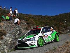 Jan Kopecký na trati Rallye Korsika (archivní foto)