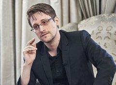 Bývalý analytik americké tajné služby NSA Edward Snowden.