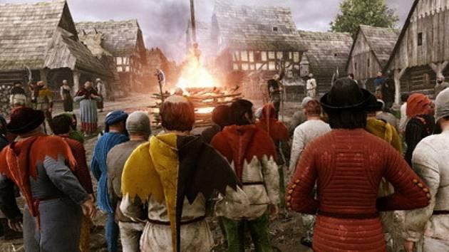 Počítačová hra Kingdom Come: Deliverance.