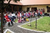 Kulturní léto v kyjovském informačním centru.