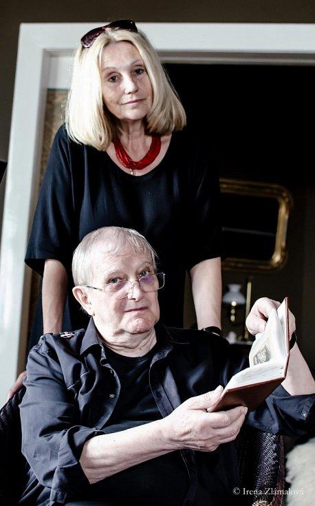 Olga Sommerová a Jiří Suchý
