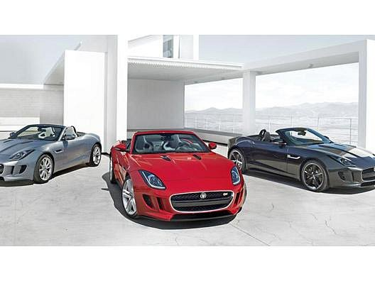 Nový Jaguar F-Type