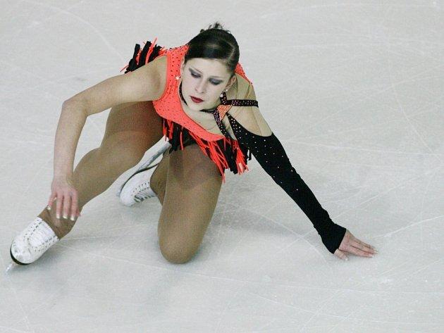 Krasobruslařka Eliška Březinová.