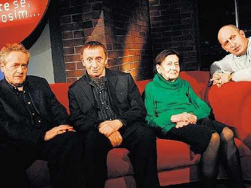 Nevšední setkání. Michael, Ivan a Božena se octnou v palbě otázek Jana Krause.