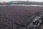 Demonstrace na Letné 26. listopadu 1989