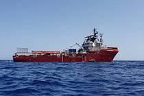 Humanitární loď Ocean Viking
