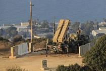 Izraelské rakety Patriot namířené proti Sýrii. Ilustrační foto.