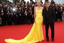 Charlize Theronová a Sean Penn.